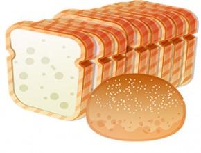 Paleo ohne Brot - Illustration von Brot und Brötchen